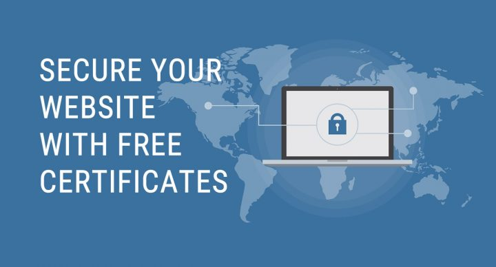 Secure your website with free SSL certificates